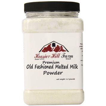 Hoosier Hill Farm Premium Old Fashioned Malted Milk Powder, 1.5 lbs