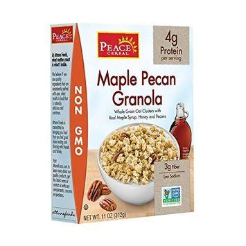 Peace Cereal, Maple Pecan, 11 Ounce
