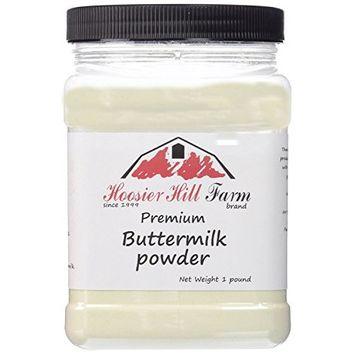 Hoosier Hill Farm Buttermilk Powder, 2 lbs plastic jar