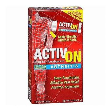 Activ On Topical Analgesic, Ultra Strength, Arthritis, 2 oz. (PACK OF 2)