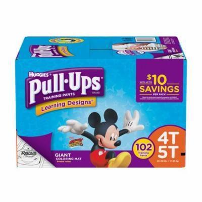 Huggies Pull Ups Traning Pants for Boys 102 ct. 4T//5T Boys