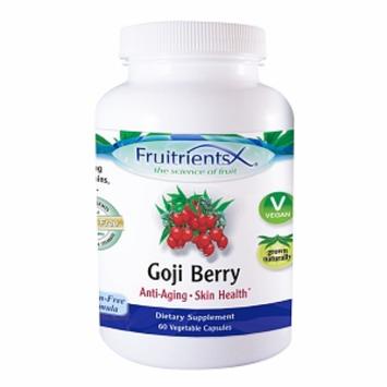 Fruitrients Goji Berry, Capsules, 60 ea