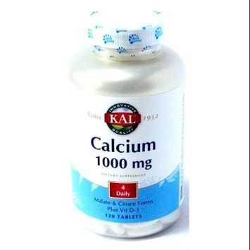KAL Calcium 1000 mg - 120 Tablets