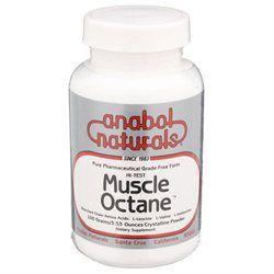 Anabol Natural A. Naturals Hi-Test Muscle Octane Bcaa's
