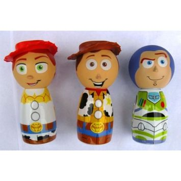 Mzb Accessories Toy Story Mini Bubble Bath Collector's Set *Buzz, Woody, Jessie*
