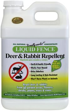 Liquid Fence 123 One Gallon Deer and Rabbit Repellent Concentrate