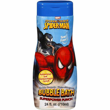 MZB Accessories Spiderman Superpower Punch Bubble Bath