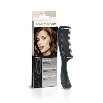 (PACK OF 6) COVER YOUR GRAY COLOR COMB (BLACK) #5128IG : Beauty