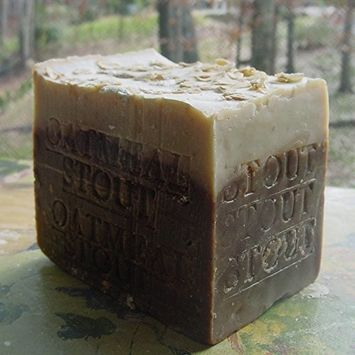 Aged Beer Soap Oatmeal and Stout with Made with Guinness Extra Stout 14 OZ Bar