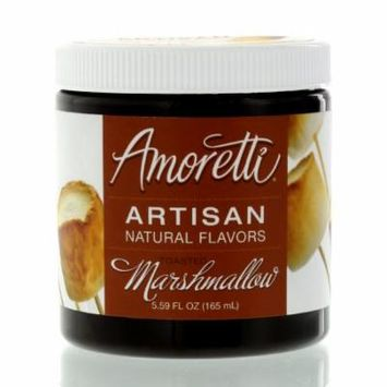 Amoretti Natural Artisan Flavor Toasted Marshmallow, 5.59 Fluid Ounce