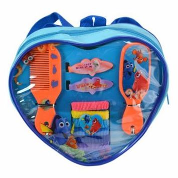 10pc Disney Finding Dory Heart Shaped Hair Accessory Girls Backpack Ponies Comb
