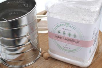 Keystone Pantry Organic Powder Sugar 3-Lb Jar