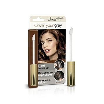 (PACK OF 6) COVER YOUR GRAY ROOT TOUCH-UP DARK BROWN #0132IG : Beauty