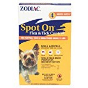 ZODIAC SPOT ON FLEA & TICK FOR DOGS