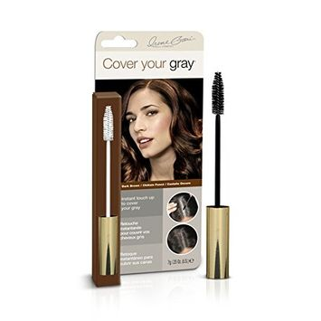 (PACK OF 6) COVER YOUR GRAY BRUSH-IN WAND DARK BROWN #5068IG : Beauty