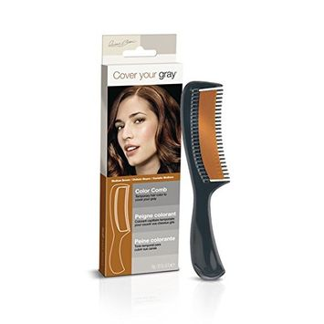 (PACK OF 6) COVER YOUR GRAY COLOR COMB (MEDIUM BROWN) #5108IG : Beauty