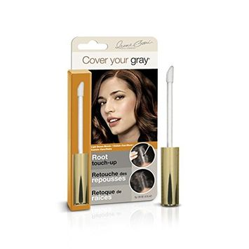 (PACK OF 6) COVER YOUR GRAY ROOT TOUCH-UP LIGHT BROWN/BLONDE #0134IG : Beauty