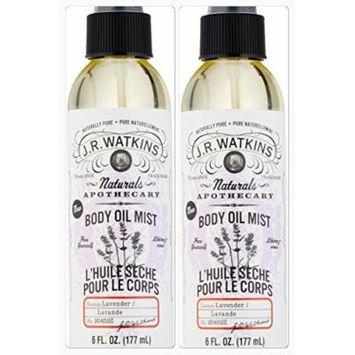 J.R. Watkins Lavender Body Mist 6 Oz. (Two Pack)