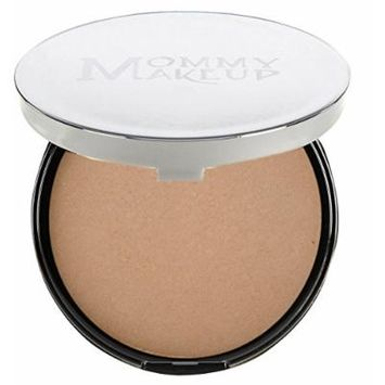 Mommy Makeup Mineral Dual Powder SPF15 [4-in-1 Pressed Mineral Foundation] 0.45 ounce - Oil-free, Talc-free, Fragrance-free, Paraben-free - Craving