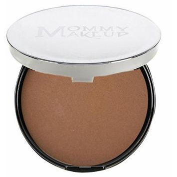 Mommy Makeup Mineral Dual Powder SPF15 [4-in-1 Pressed Mineral Foundation] 0.45 ounce - Oil-free, Talc-free, Fragrance-free, Paraben-free - Puddin'