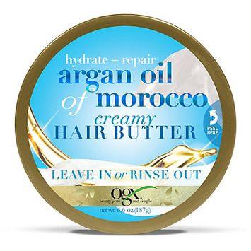 OGX® Creamy Hair Butter, Hydrate + Repair Argan Oil Of Morocco