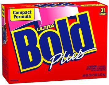Bold Ultra Compact Formula Plus Powder Laundry Detergent