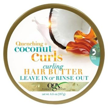 OGX® Quenching + Coconut Curls Curling Leave in Hair Butter - 4oz