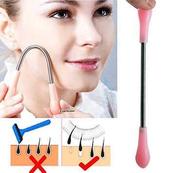 Facial Hair Remover Stick Epilator Threading Beauty Tool Spring it, No more waxing and shaving- AOSTKE(TM)