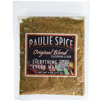 Paulie Spice Seasoning and BBQ Rub Original Blend (4 ounce)