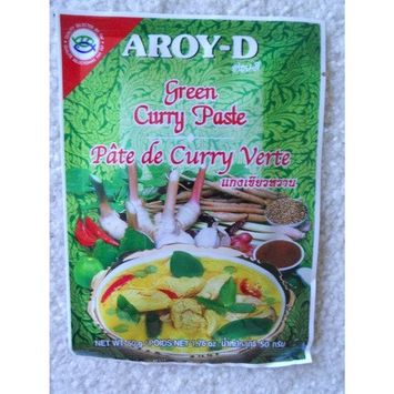 Aroy-D Green Curry Paste - 5 x 50 g / 1.76 oz