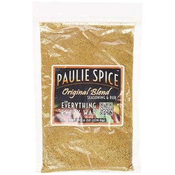 Paulie Spice : Gourmet All Purpose Seasoning and Rub : Steak, Meat, Chicken, Wings, Beef, Pork, Rib, Ribs, Turkey, Fish, Seafood, BBQ, Barbecue, Grill, Grilling, Smoker, Dry Rubs, Spices, Seasonings