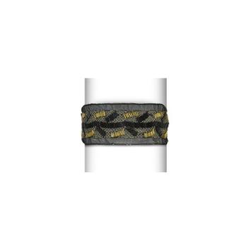 Expo Metallic Net and Beaded Stretch Headband