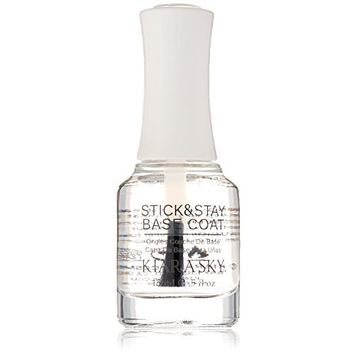 Kiara Sky Sticky & Stay Base Coat Nail Lacquer 15 ml