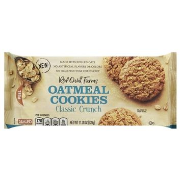 Red Oval Farms Oatmeal Cookies Classic Crunch