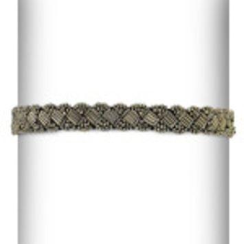 Expo Metallic Beaded Stretch Headband