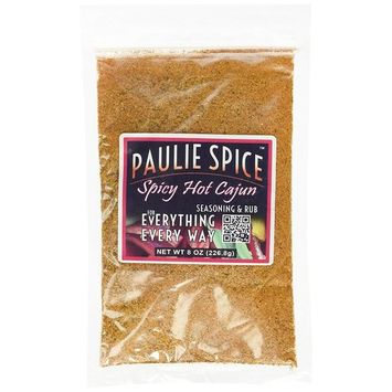 Paulie Spice Spicy Hot Cajun Seasoning and Rub 8 ounce