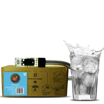 India Super Dry Craft Tonic Water (3 Gallon Bag-in-Box Syrup Concentrate) - Box Pours 18 Gallons of Tonic Water - Use with Bar Gun, Soda Fountain