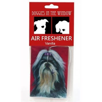 Doggies in the Window Shih Tzu Air Freshener, Vanilla
