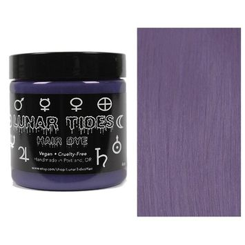 Lunar Tides Hair Dye - Smokey Purple Grey Semi-Permanent Vegan Hair Color (4 fl oz/118 ml)