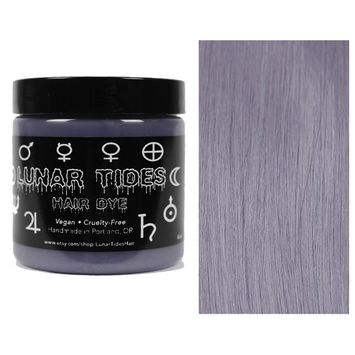 Lunar Tides Hair Dye - Silver Lining Semi-Permanent Vegan Hair Color (4 fl oz/118 ml)