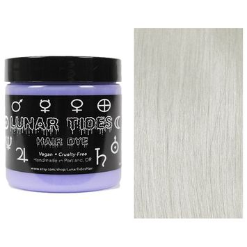 Lunar Tides Hair Dye - Lunar White Toner Semi-Permanent Vegan Hair Color (4 fl oz/118 ml)