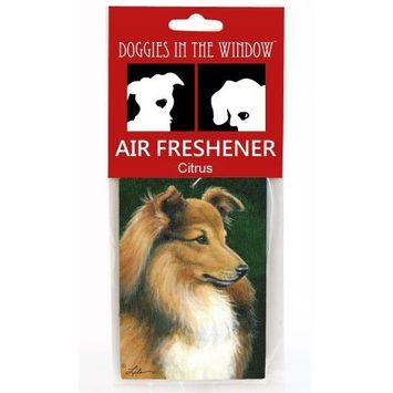 Doggies in the Window Sheltie Air Freshener, Citrus