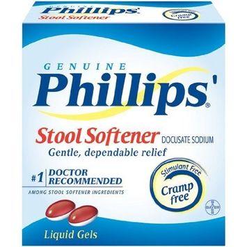 Phillips Stool Softener Liqui-Gels 30-Count (Pack of 6)