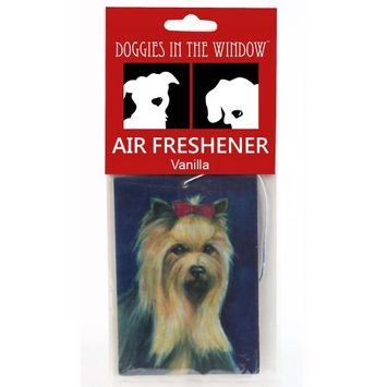 Doggies in the Window Yorkshire Terrier Air Freshener, Vanilla