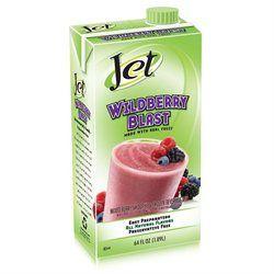 Jet Wildberry Smoothie Mix - 64 oz. Boxes - Case of6