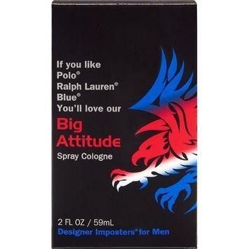 Designer Imposter Big Attitude For Men 2oz Fragrance Spray Cologne