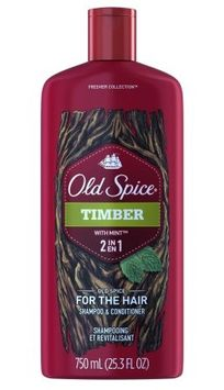 Old Spice Timber with Mint 2 in 1 Shampoo and Conditioner