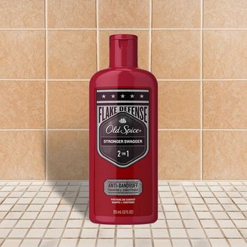 Old Spice Stronger Swagger Men's 2in1 Anti-Dandruff Shampoo and Conditioner,