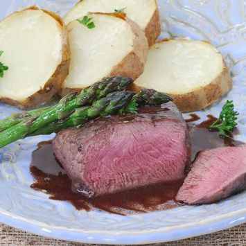 Venison Medallions - 3 pieces, 4 oz ea