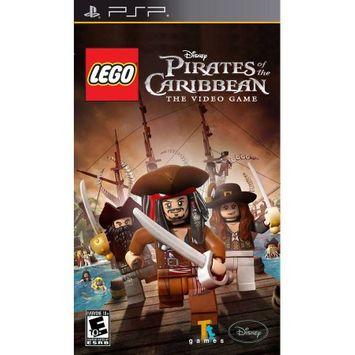 Disney Interactive LEGO Pirates of the Caribbean The Video Game - Action/Adventure Game Retail - UMD - PSP